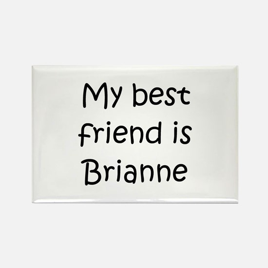 Cool Brianne Rectangle Magnet