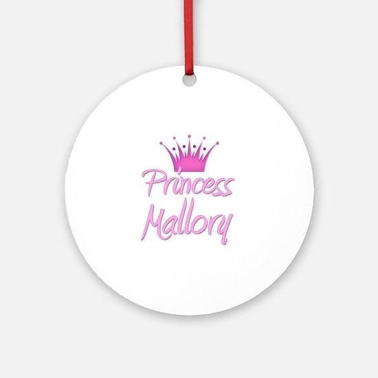 Princess Mallory Ornament (Round)