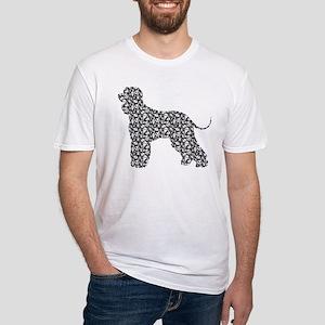 Irish Water Spaniel Fitted T-Shirt