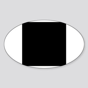 Drum Major - Clayton Oval Sticker