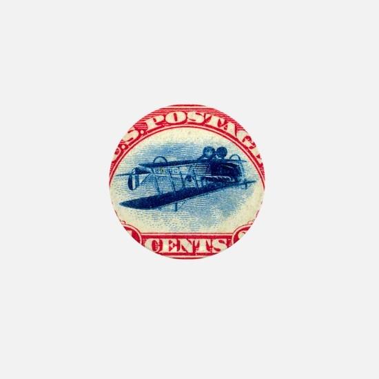 Inverted Jenny Mini Button