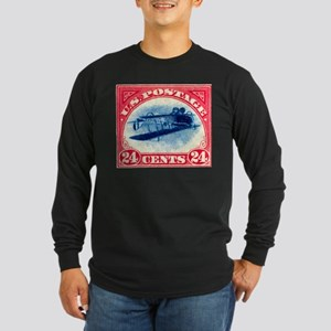 Inverted Jenny Long Sleeve Dark T-Shirt