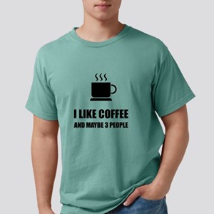 Like Coffee Three People Funny T-Shirt