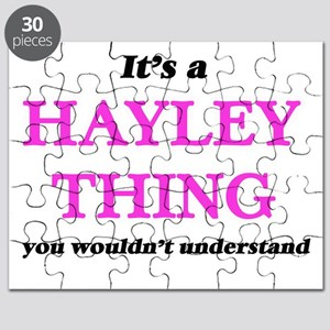 It's a Hayley thing, you wouldn't u Puzzle