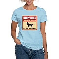 Large Munsterlander Women's Light T-Shirt