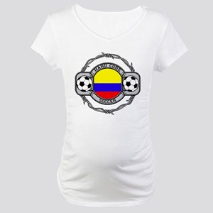 Colombia Soccer Maternity T-Shirt