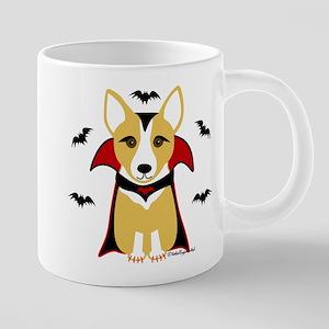 Count Corgi - Vampire Mugs