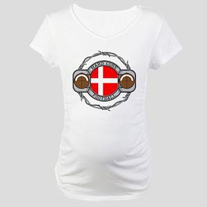 Denmark Football Maternity T-Shirt