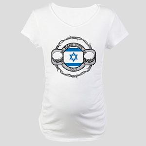 Israel Golf Maternity T-Shirt