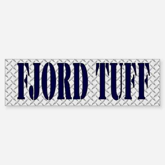 TUFF Fjord Horse Bumper Bumper Sticker