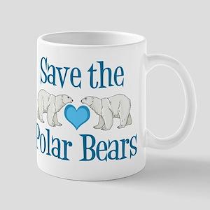 Save the Polar Bears 11 oz Ceramic Mug