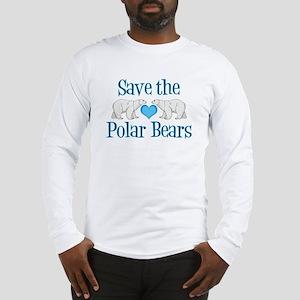 Save the Polar Bears Long Sleeve T-Shirt