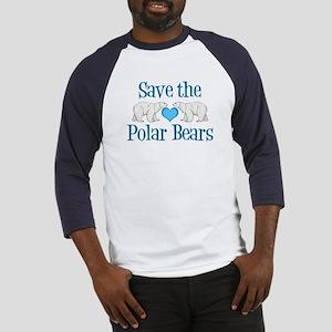 Save the Polar Bears Baseball Tee