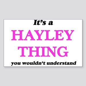 It's a Hayley thing, you wouldn't Sticker