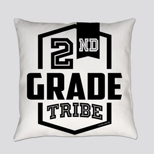 2nd Grade Tribe Everyday Pillow