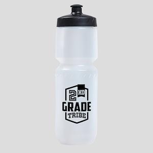 2nd Grade Tribe Sports Bottle