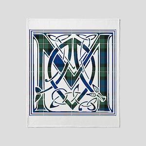 Monogram-MacPhail hunting Throw Blanket
