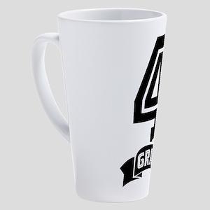 4th Grade 17 oz Latte Mug