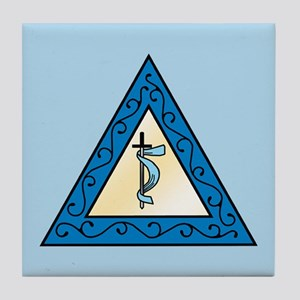 OES Adah Tile Coaster