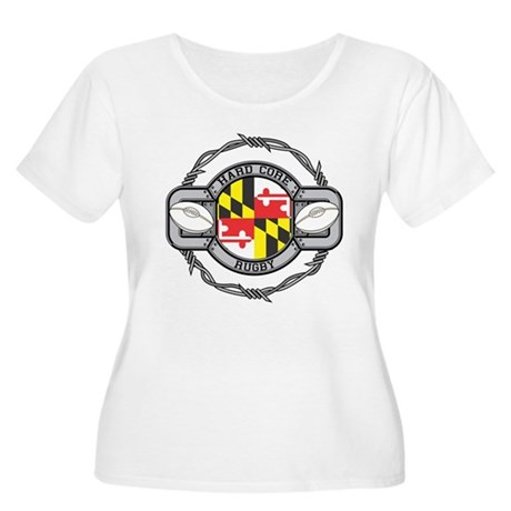Maryland Rugby Women's Plus Size Scoop Neck T-Shir