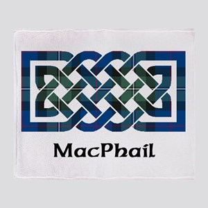 Knot-MacPhail hunting Throw Blanket
