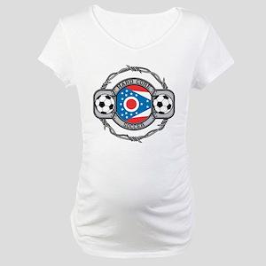 Ohio Soccer Maternity T-Shirt