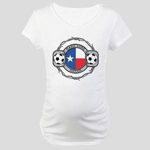 Texas Soccer Maternity T-Shirt