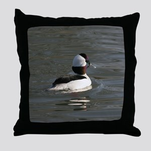 Bufflehead Throw Pillow