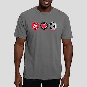 Peace Love Soccer Mens Comfort Colors® Shirt