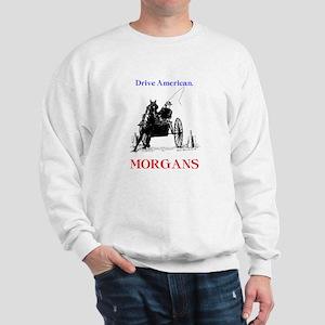 """Drive American. MORGANS"" Sweatshirt"