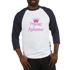 Princess Makenna Baseball Jersey