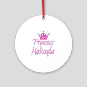 Princess Makayla Ornament (Round)