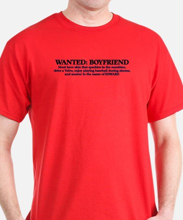 Wanted Cullen Boyfriend T-Shirt