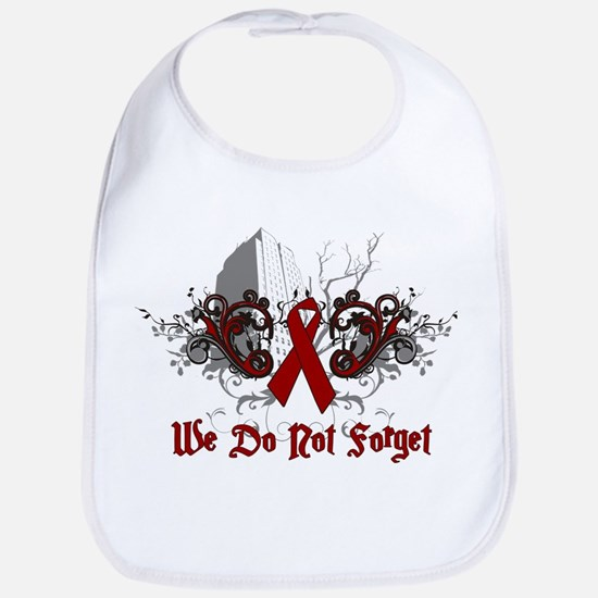 We Do Not Forget-AIDS Bib