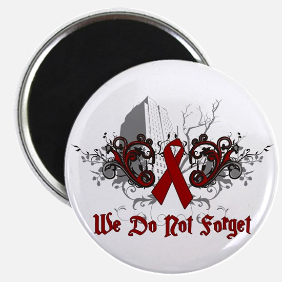 """We Do Not Forget-AIDS 2.25"""" Magnet (10 pack)"""