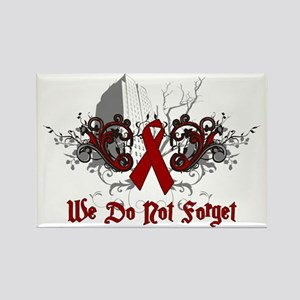 We Do Not Forget-AIDS Rectangle Magnet