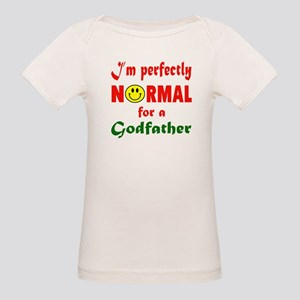 I'm perfectly normal for a Go Organic Baby T-Shirt