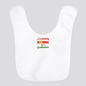 I'm perfectly normal for a Godf Polyester Baby Bib