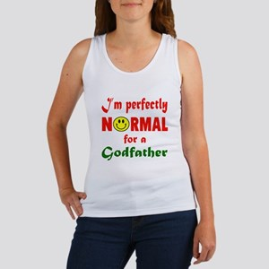 I'm perfectly normal for a Godfat Women's Tank Top
