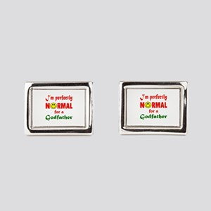 I'm perfectly normal for a G Rectangular Cufflinks