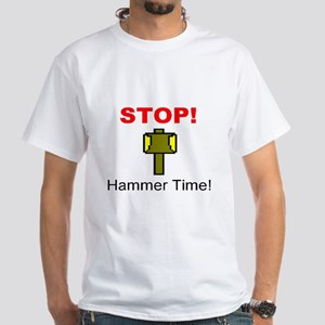 Hammer Time White T-Shirt