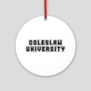 University Ornament (Round)