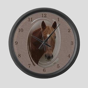 Dusty Large Wall Clock