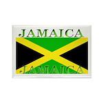 Jamaica Jamaican Flag Rectangle Magnet (100 pack)