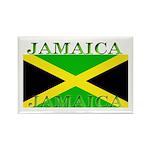 Jamaica Jamaican Flag Rectangle Magnet (10 pack)