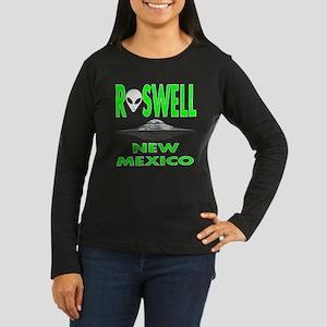 'Roswell New Mexico' Women's Long Sleeve Dark T-Sh