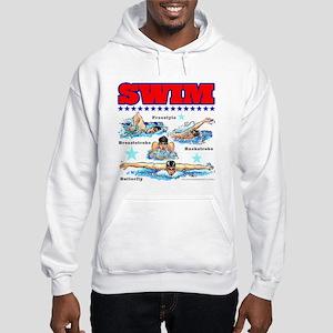 Swimming (M) Hooded Sweatshirt