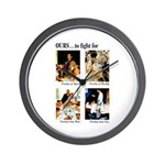 Freedom to Fight For Wall Clock