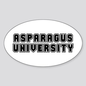 University Oval Sticker
