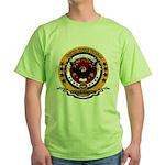 Dominican Republic Veteran Green T-Shirt